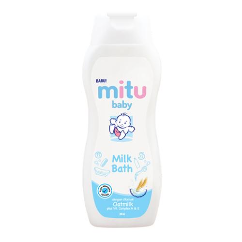 mitu baby milk bath