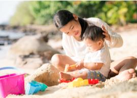 Waspada kuman pembawa penyakit saat si Kecil bermain pasir