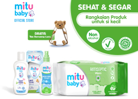 Mitu Baby Antiseptic & Fresh Pack