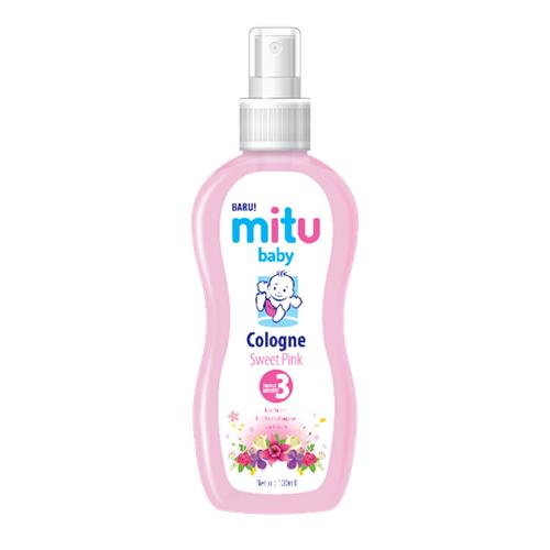 Rekomendasi cologne bayi mitu baby sweet pink