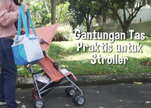 Jalan dengan Stroller Makin Leluasa